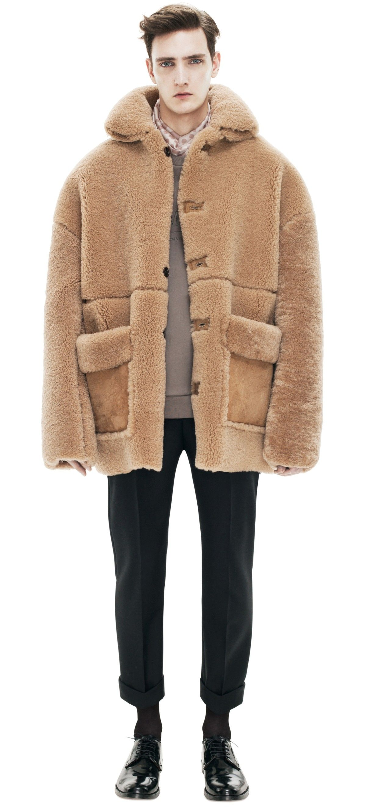 Acne Ennis Shearling Light Brown in Brown for Men   Lyst   Style in ... ce039423f2d