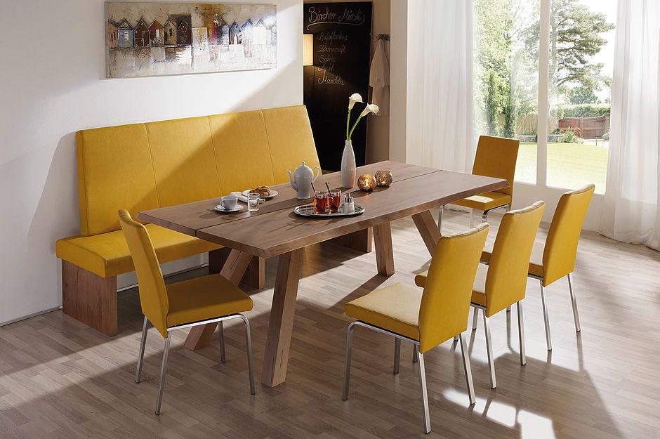 Risseiche Altbronze lackiert, Außenwange Holz - Schösswender Möbel