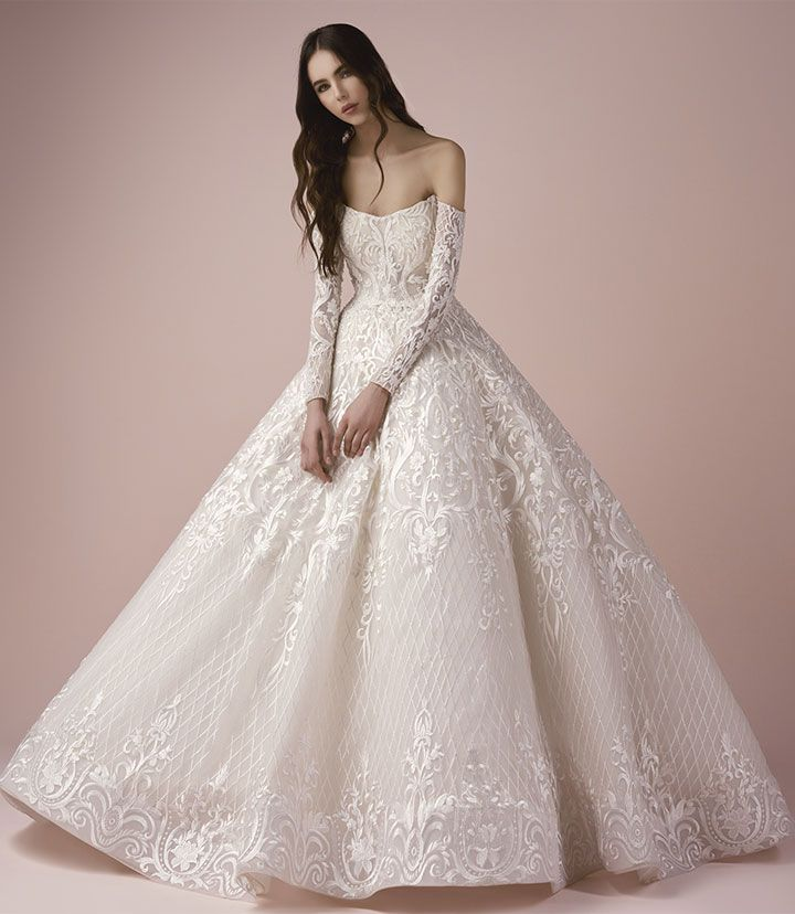 Saiid Kobeisy Wedding Dress | Wedding Dress Inspiration #weddingdress #weddingdresses #bridalgown #bridal #bridaldresses #bridaldress