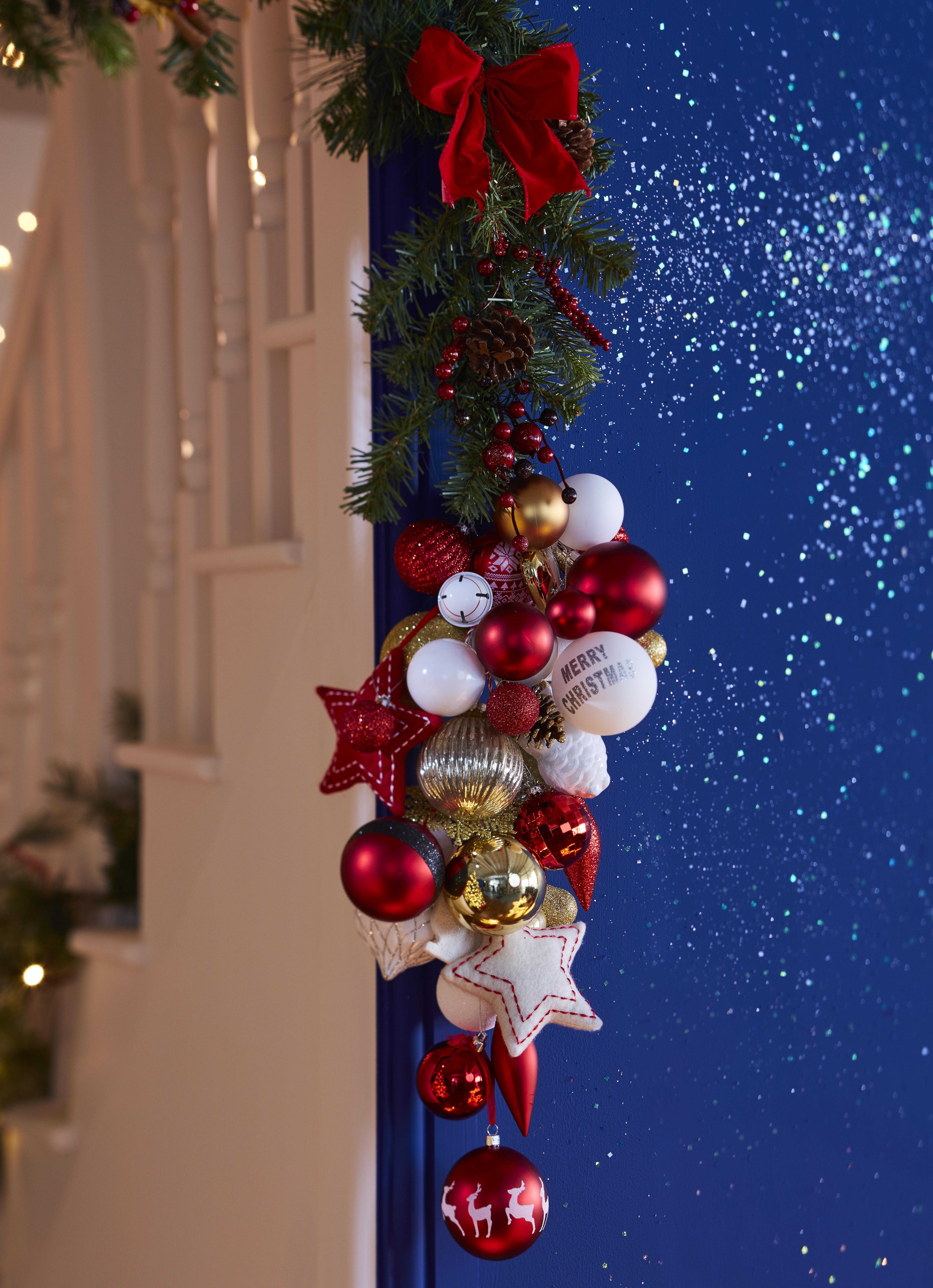 christmas christmas trees lights baubles diy at bq
