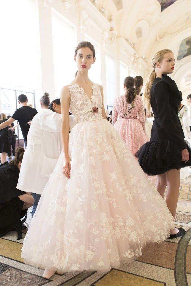 Runway: Giambattista Valli Fall 2017-2018 Couture | Giambattista ...