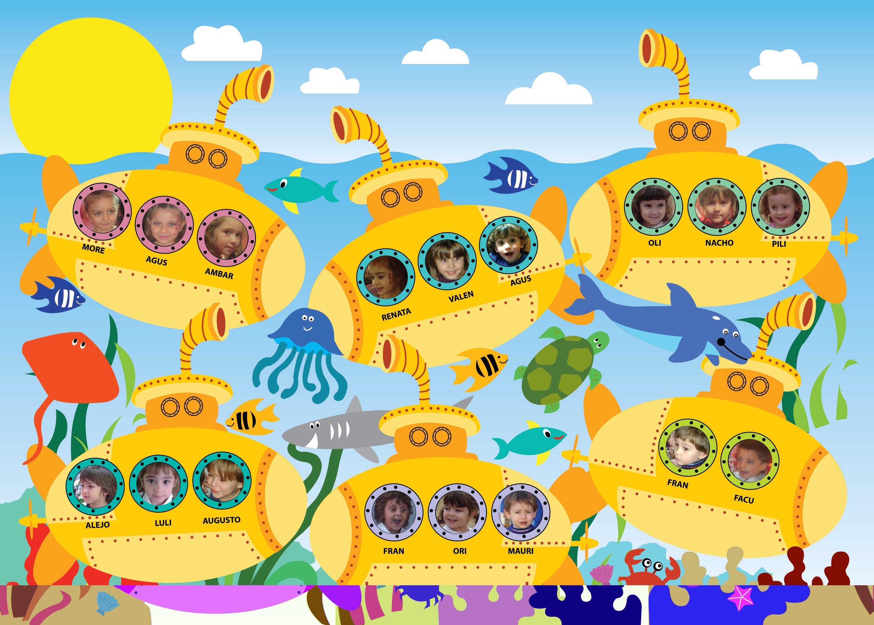 Fondo del mar deco mar pinterest del mar el mar y for Decoracion verano para jardin infantil