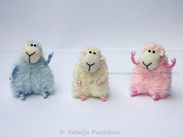 Schaf Häkeln Fertig Gehäkelt In 70 Min Schafe Pinterest