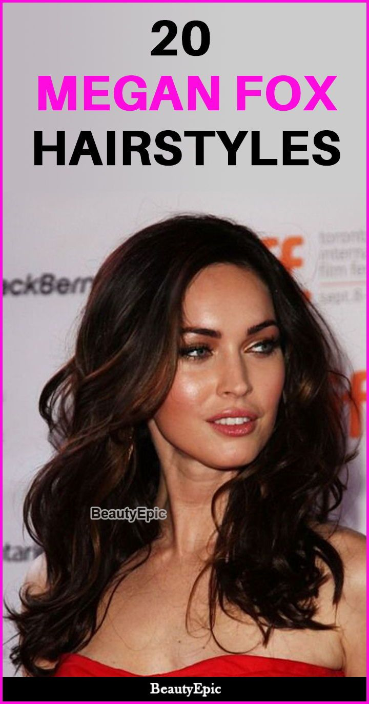 20 Super Inspiring Megan Fox Hairstyles Discover Yourself As A