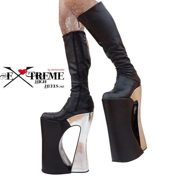 7e221ac3d73 Botas de drag queen, zapatos de tacon alto, sandalias de fantasia ...