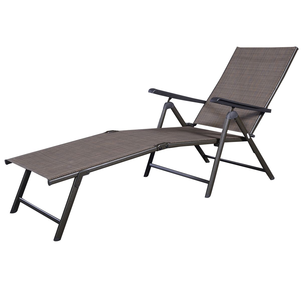 Aluminum folding beach bed beach chair pinterest for Beach chaise lounge folding