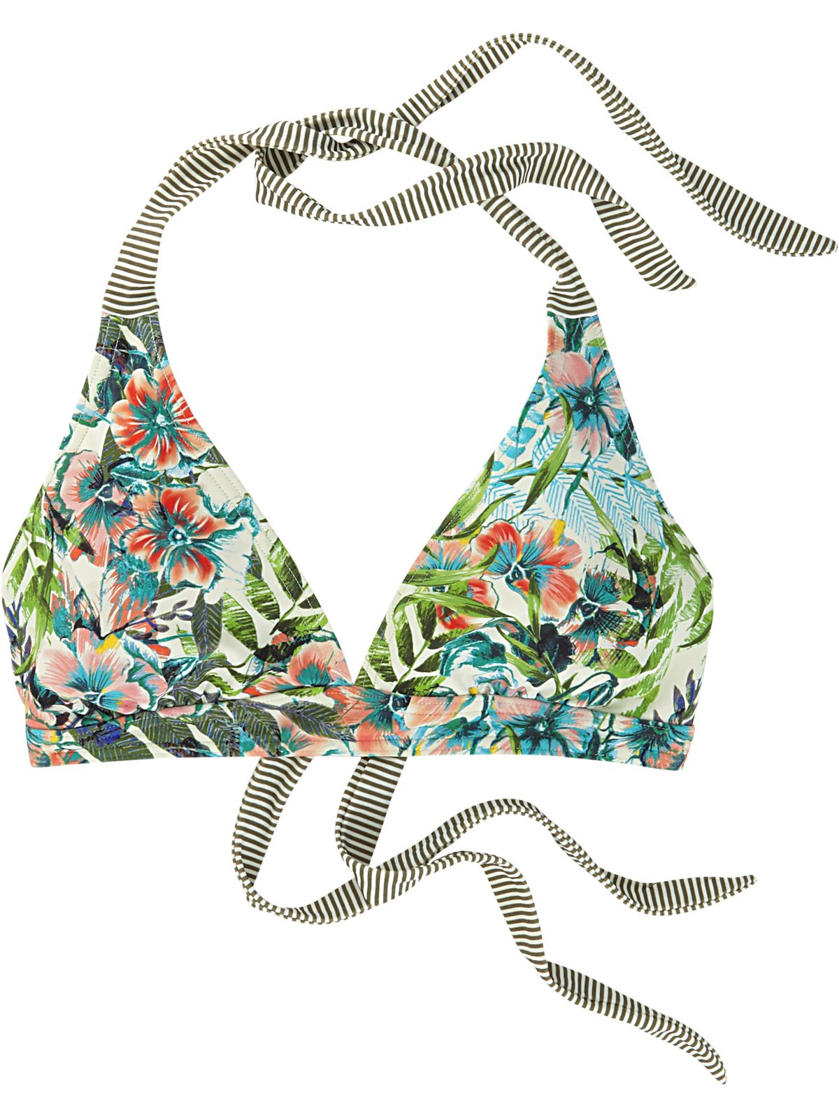 083ed64d8b9 Mahalo Bikini Top - Cargo Bali. Title Nine. T9. Active swimsuits. Swim that  stays put. Active moms. Women swim. Pattern. Floral. Bikini. Custom  coverage.