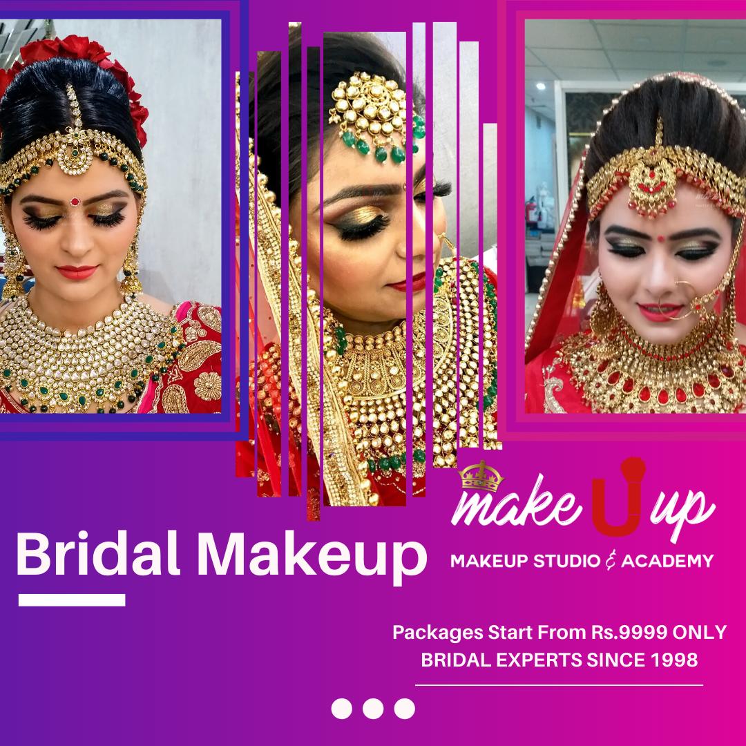 BRIDAL MAKEUP in 2020 Makeup artist course, Bridal