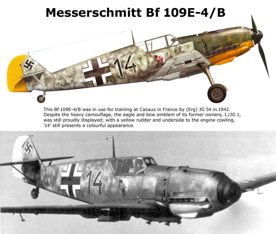 Messerschmitt Bf 109E-4/B Ww2 Aircraft, Fighter Aircraft, Military Aircraft,