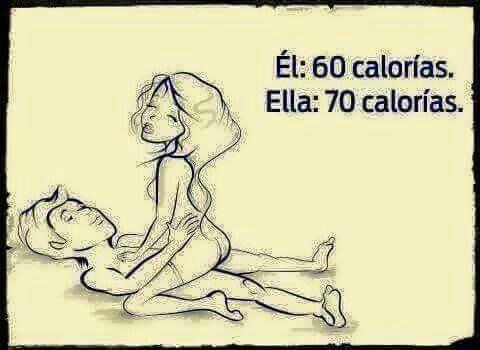 Quema calorias.