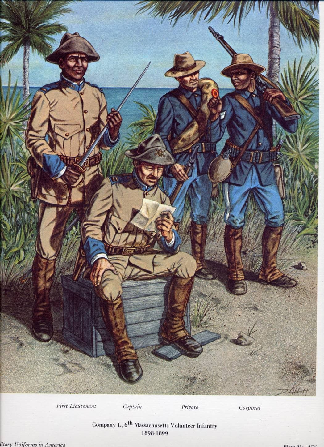 Company L Of The 6th Mass Volunteer Infantry 99