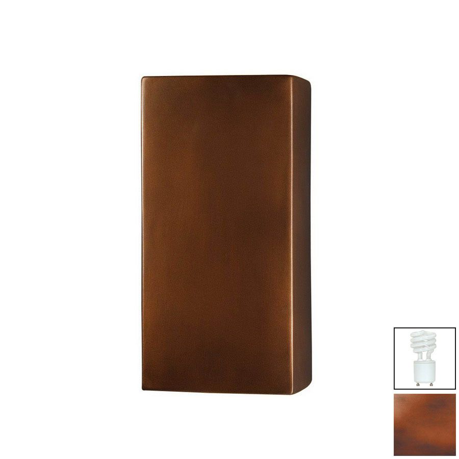Cascadia Lighting Ambiance 13-1/2-in Antique Copper ... on Cascadia Outdoor Living Spaces id=60296