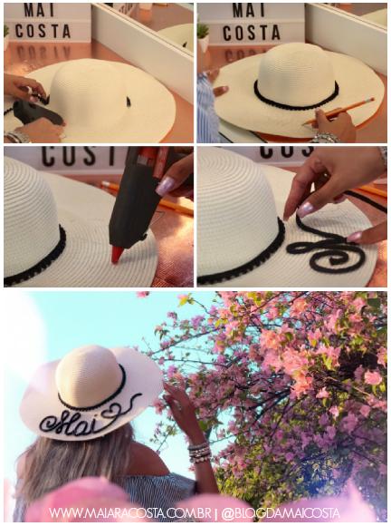 Estou amando a trendy de chapéus bordados! Durante a minha viagem recente à  Europa baa6434e65a
