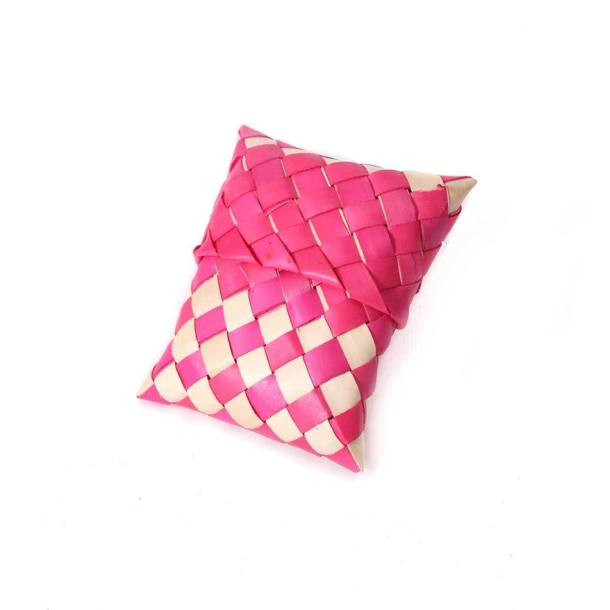 Palm Leaf pouch 3X3 | Palm Leaf Return Gifts | Pinterest | Palm ...