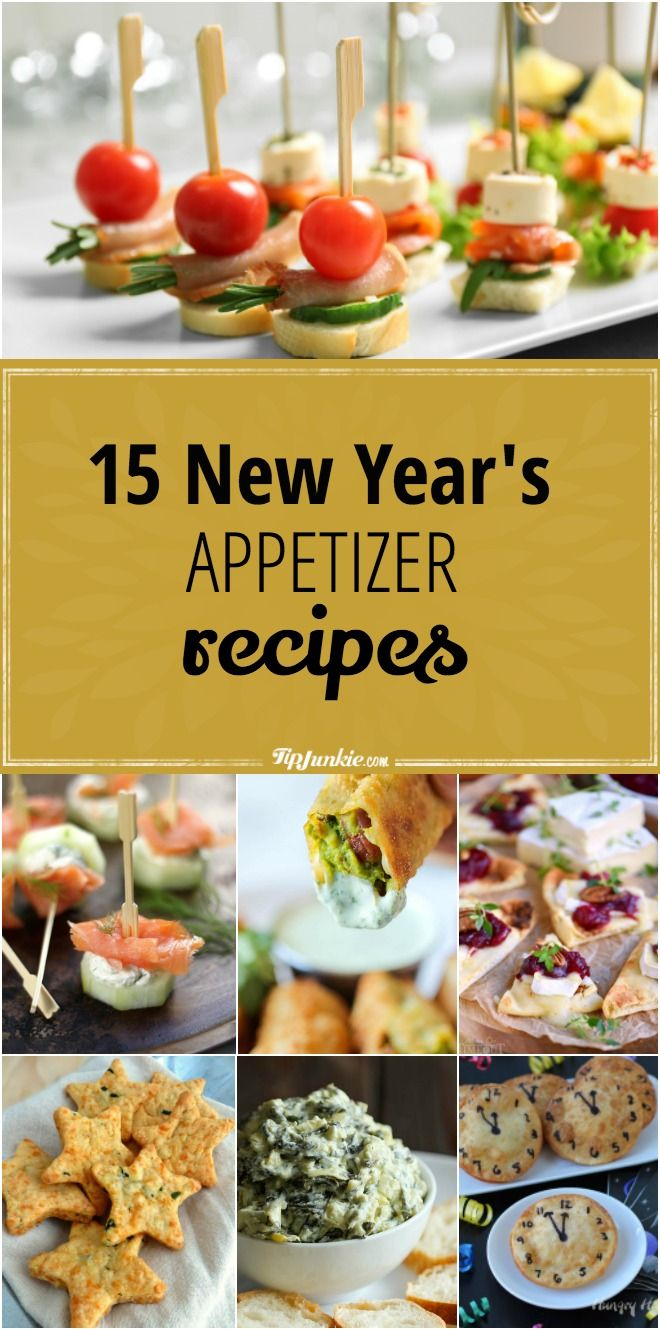 15 New Year's Appetizer Recipes
