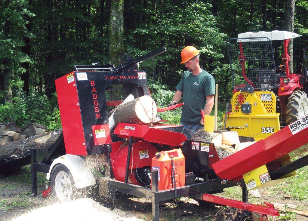 Badger firewood processor Firewood processor, Firewood