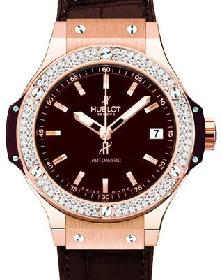 569a198ea14 Hublot Pleases Ladies with Automatic Big Bang 38 mm Watches Channel ...