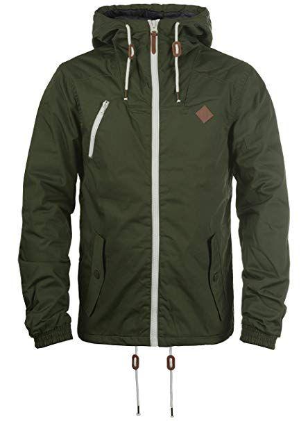 Herren Tilden Herrenjacke Solid Übergangsjacke Jacke Mit KlJTF1c