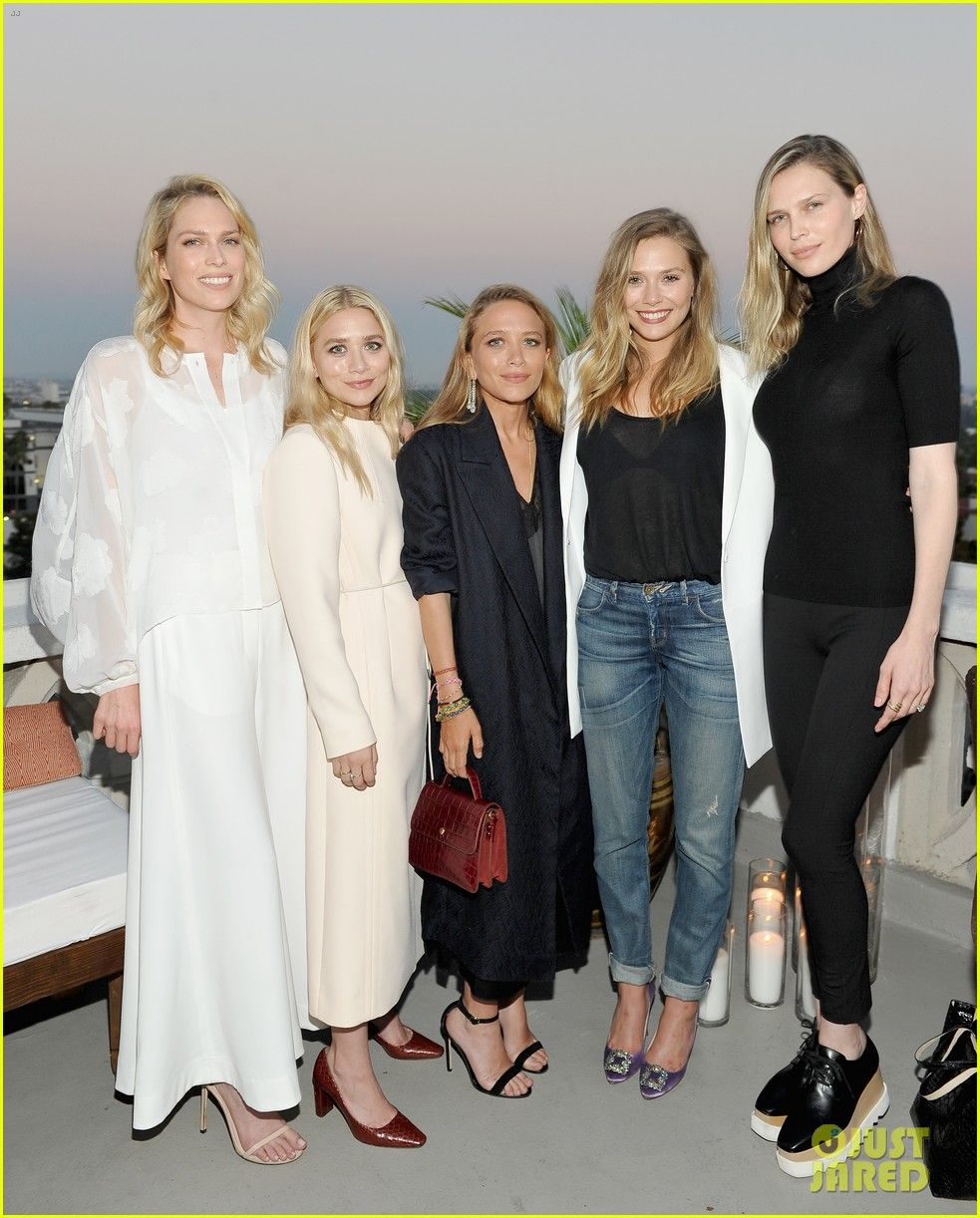 74ccfcb122 Mary-Kate & Ashley Olsen Get Support from Sister Lizzie at Elizabeth ...