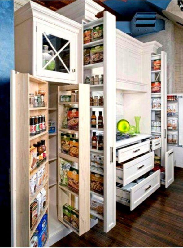 8 Formas ejemplos funcionales para ahorrar espacio para su cocina ...