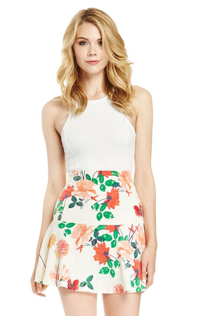 DailyLook: BB Dakota Goodwin Skirt