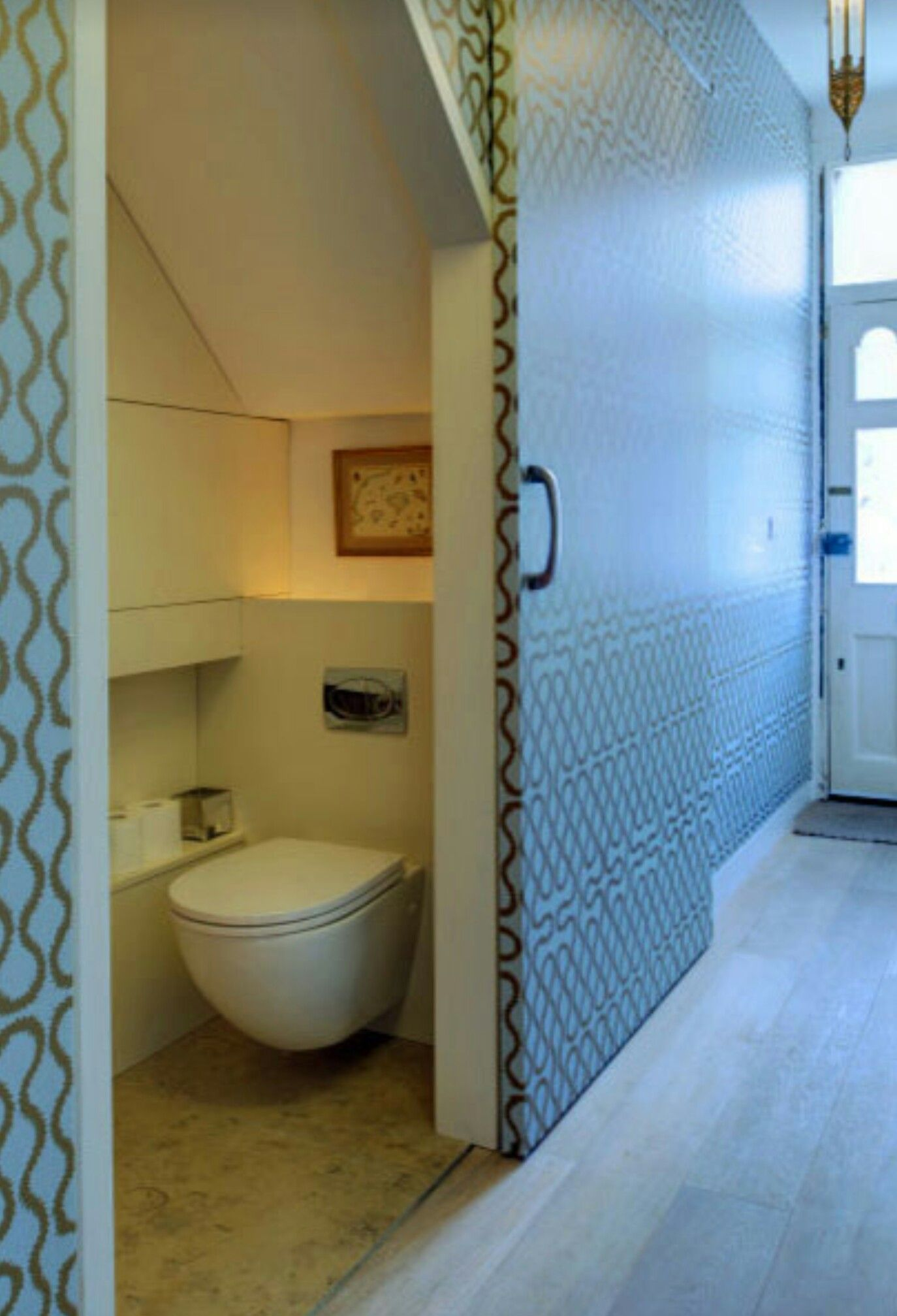 Hidden bathrooms are awesome. | Irresistible Bathrooms | Pinterest