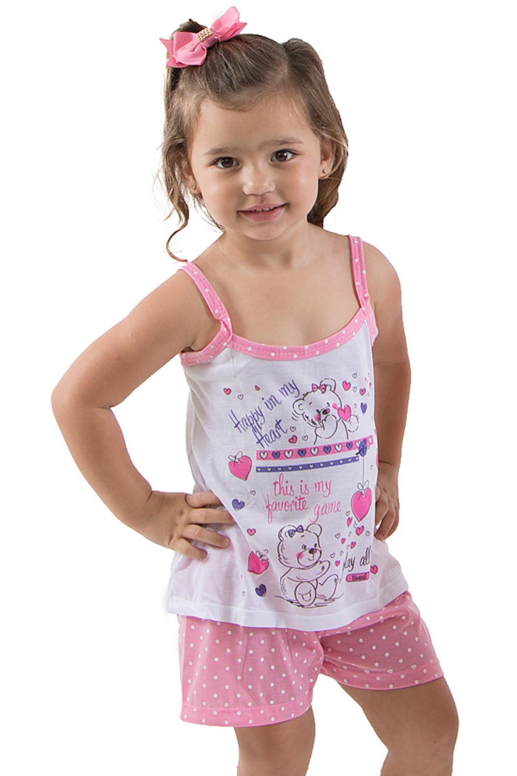 702ff8ab59fd34 Baby Doll Linha Noite Tal mãe Tal Filha (Filha) Rosa | Products ...