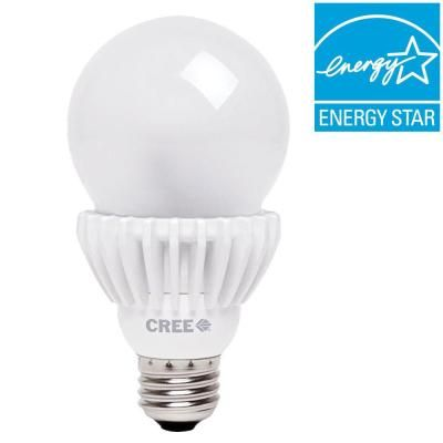 Cree 100w Equivalent Daylight 5000k A21 Dimmable Led Light Bulb Ba21 16050omf 12de26 1u100 The Home Depot Dimmable Led Lights Dimmable Led Led Bulb