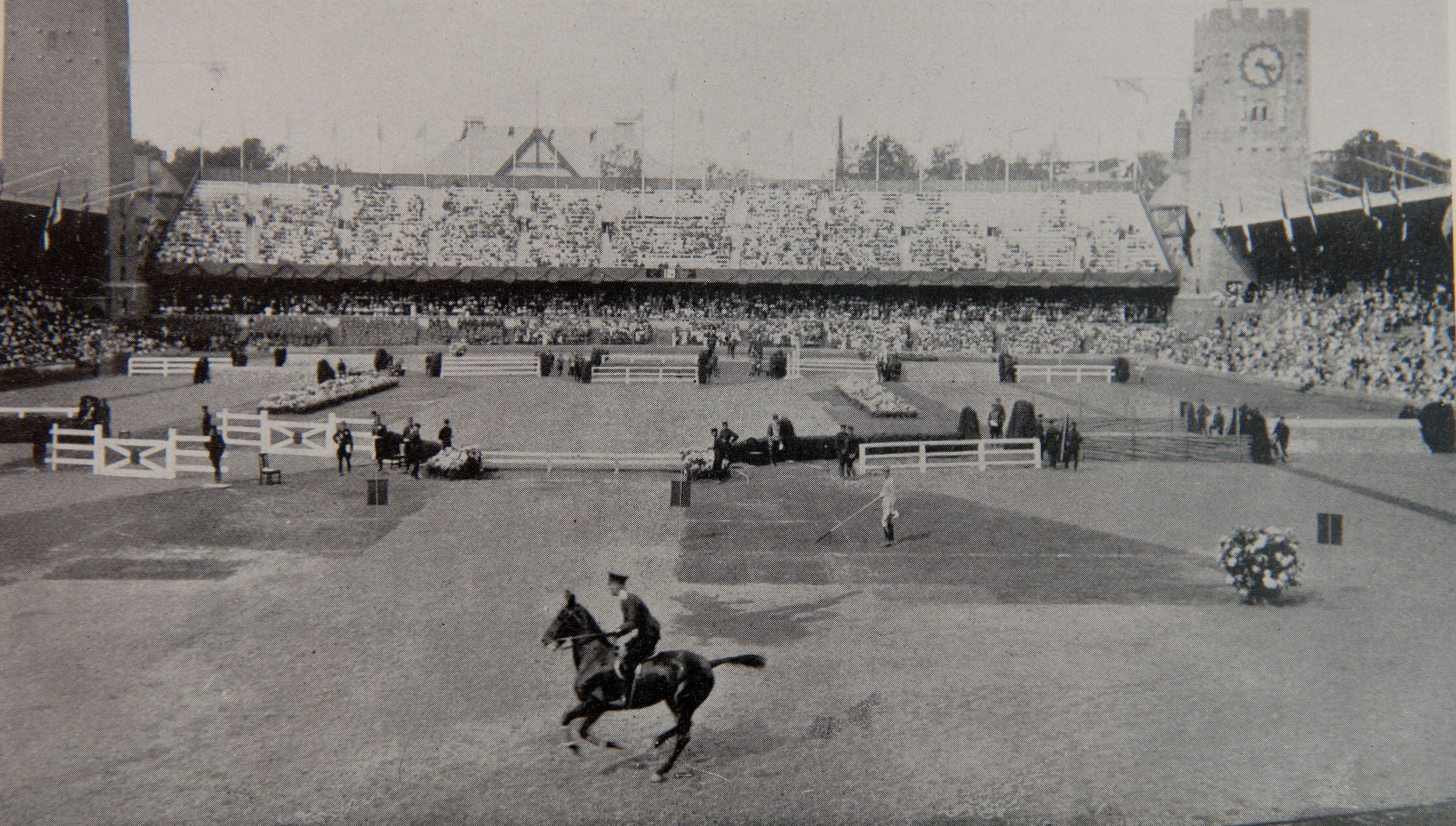 1912 Olympic Show Jumping Stadium in Stockholm, the first time equestrian events were held in the modern Olympics. (FEI History Hub)