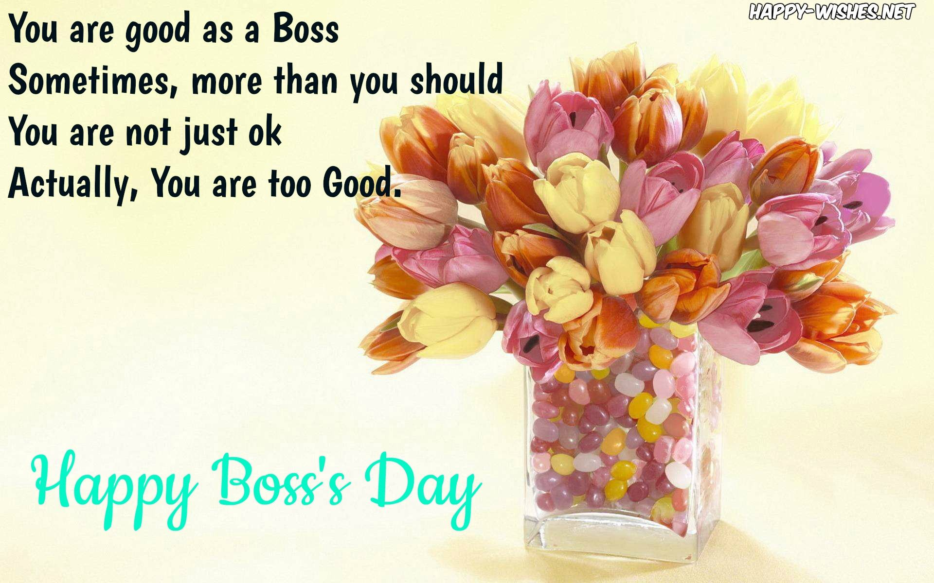 Happy boss day messages poster happy boss day messages and clipart happy boss day messages poster m4hsunfo
