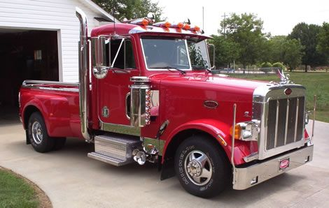 Ford Peterbilt Pickup Truck Conversion     Erase-My-Record