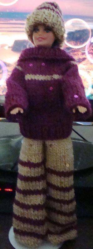 Ladyfingers Barbie Ken Quickie Knitting Patterns Dolls