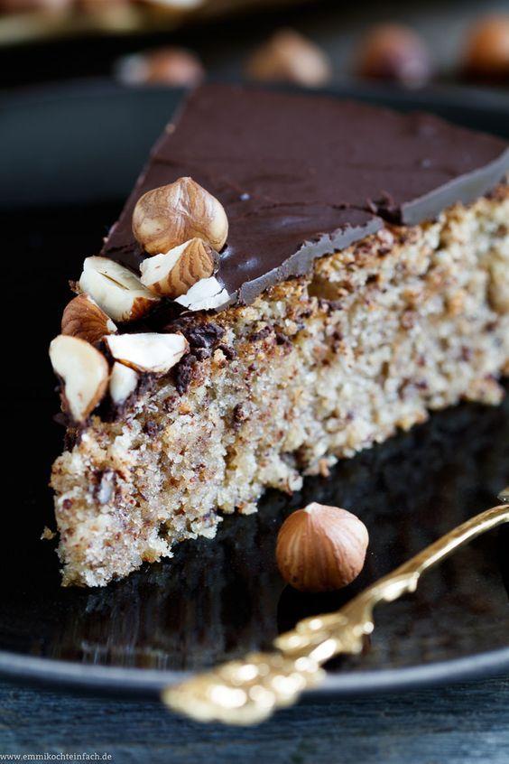 Saftiger Haselnusskuchen ohne Mehl  Rezept  Kuchen