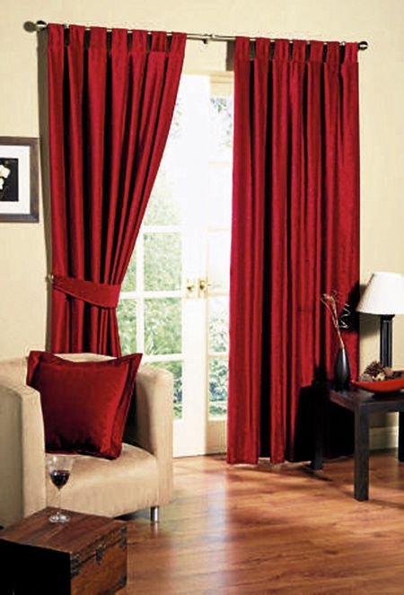 Curtains For Living Rooms Red Curtains Living Room Curtains Living Room Modern Living Room Red