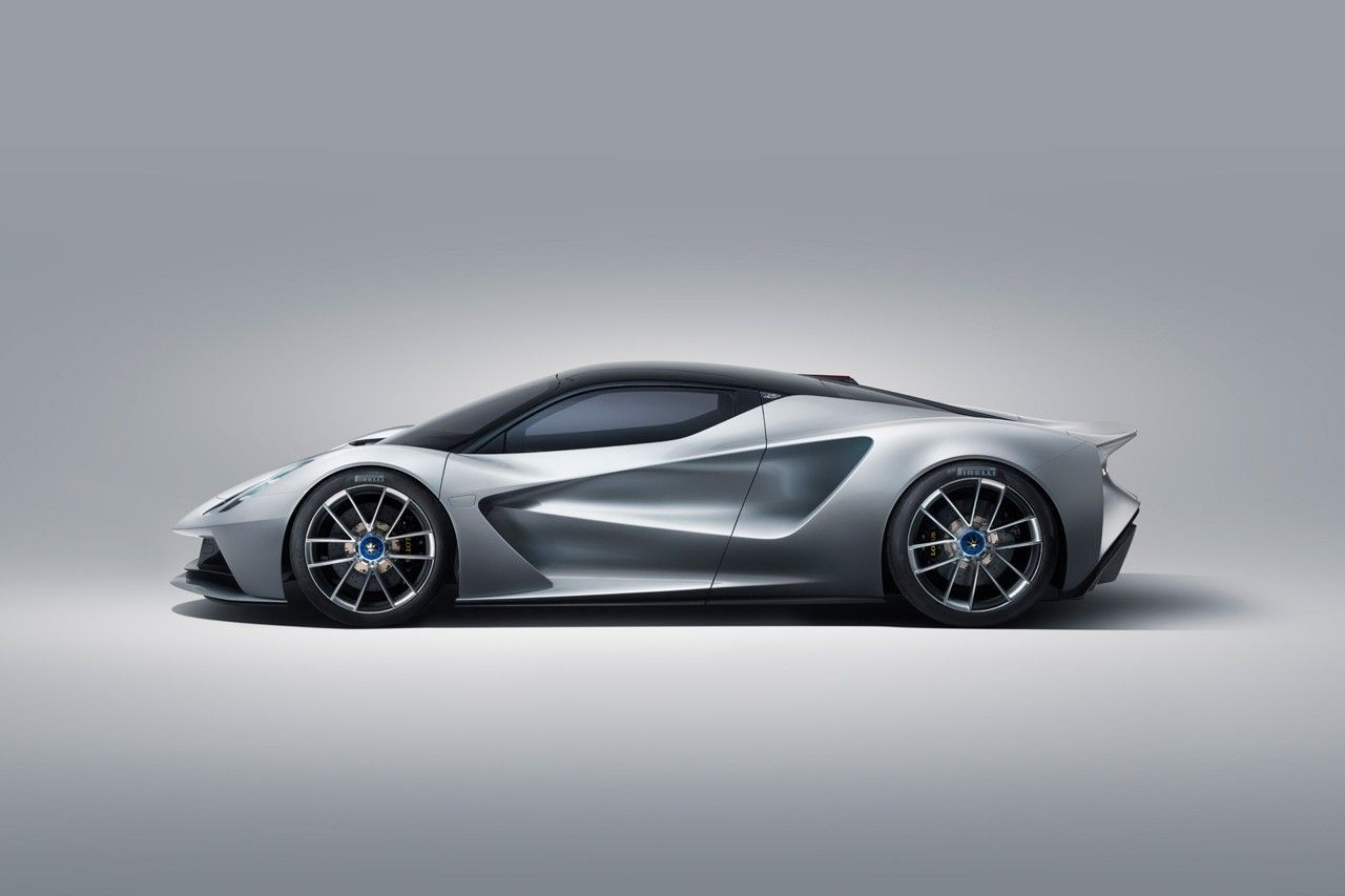 The Lotus Evija Becomes World S First Fully Electric Hypercar Super Cars Futuristic Cars Gumball 3000