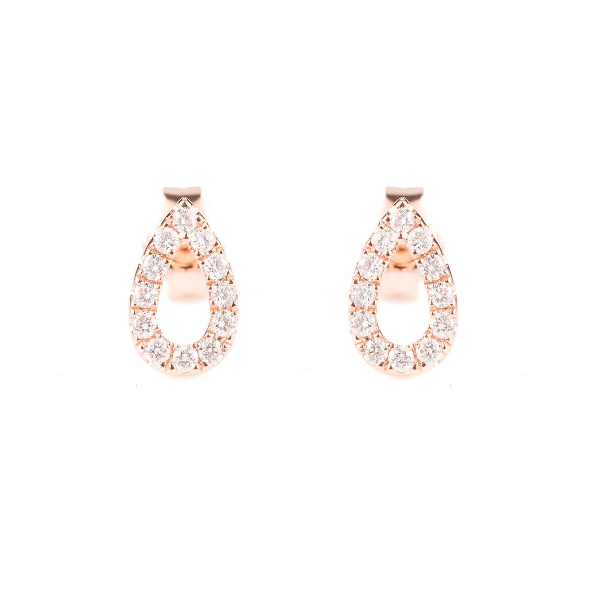 7c13b233d The Graceful Pear Stud Earrings Rose Gold comes from Vea Fine Jewelry, a  Hong Kong based jewellery brand led by designer Janet Chow.