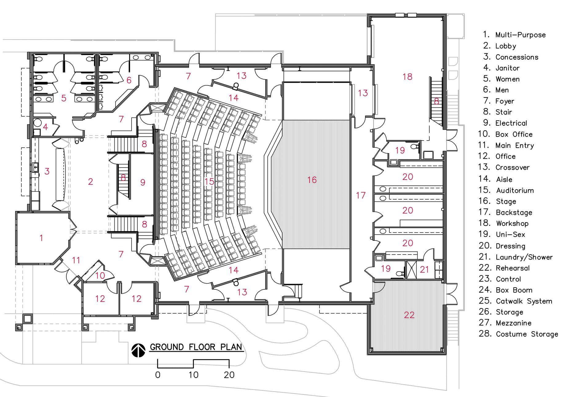 Camelot Theatre | audi | Auditorium design, Theatre