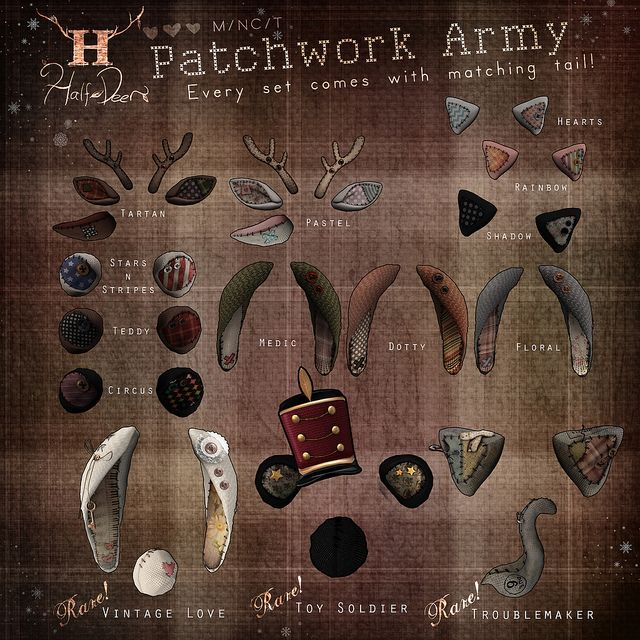 The Arcade - Patchwork Army | Flickr - Photo Sharing!