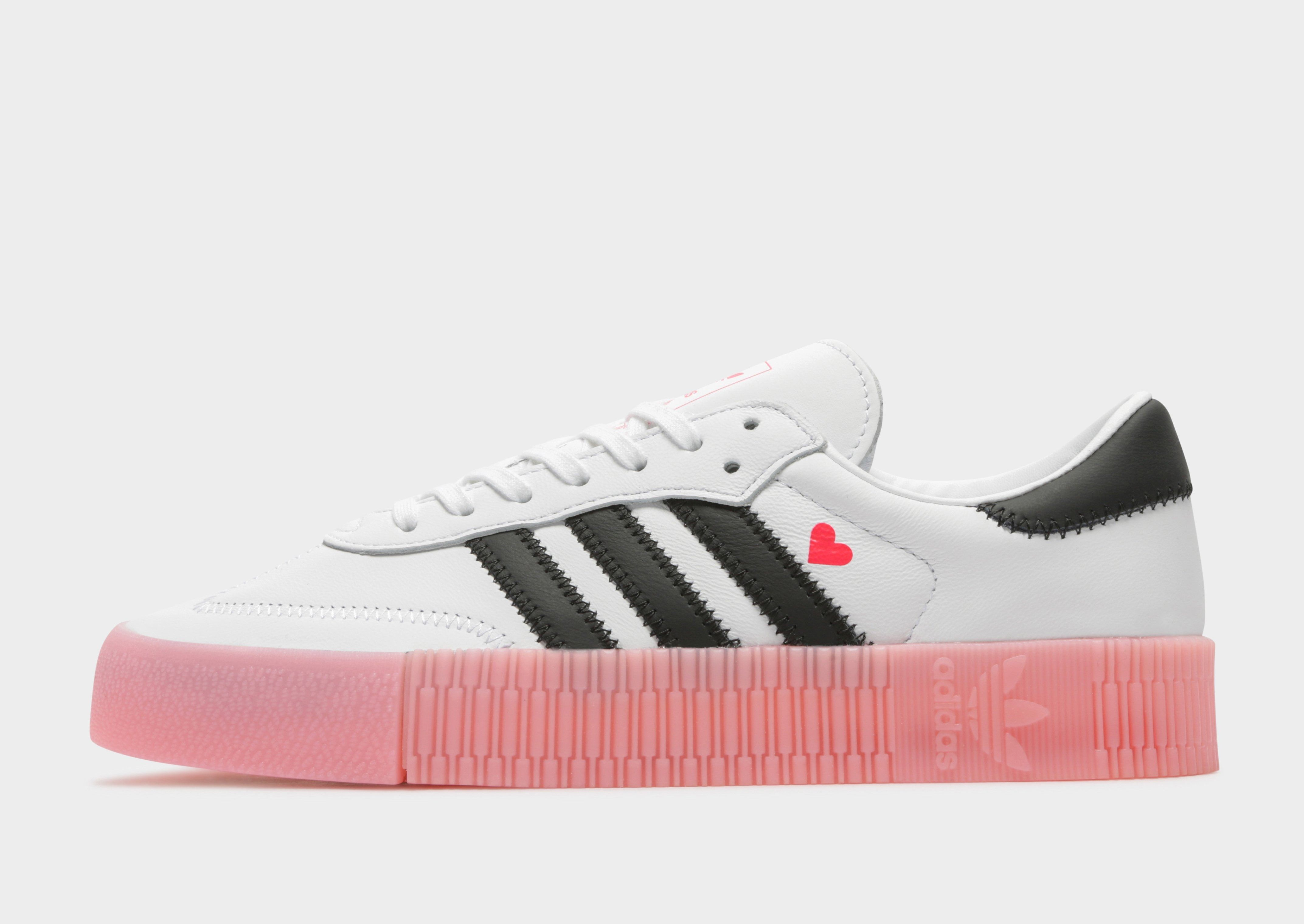 Shop online for adidas Originals Samba Rose in White with
