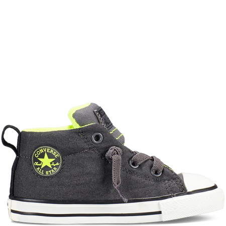 converse chuck taylor all star street toddler sneakers in thunder gray