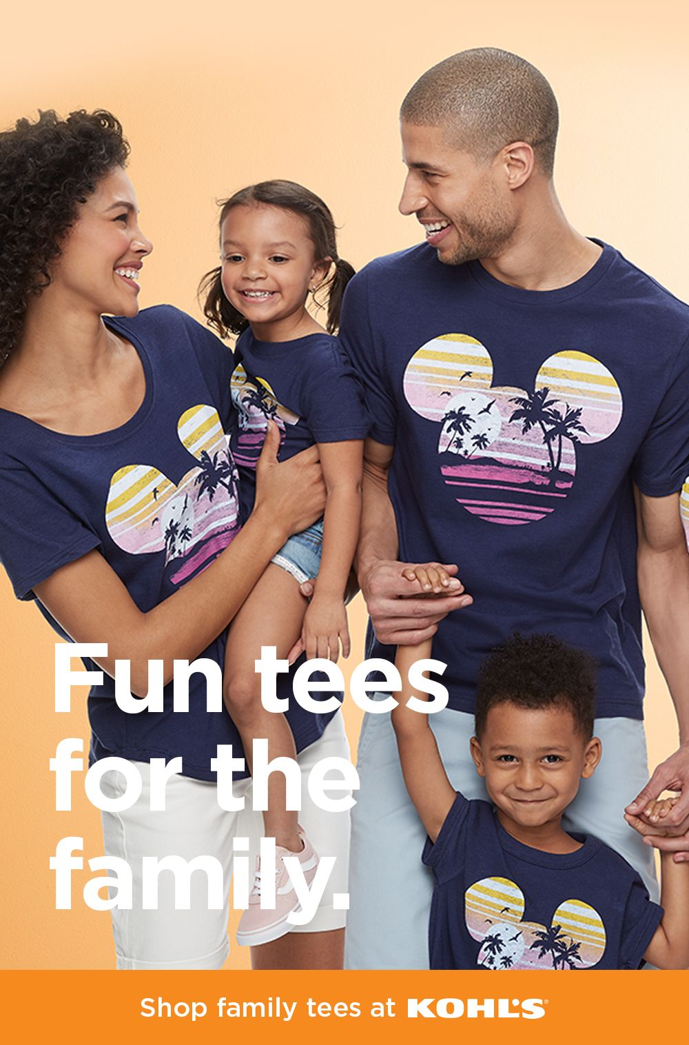 Shop Disney T Shirts For The Family At Kohl S Adventures Together
