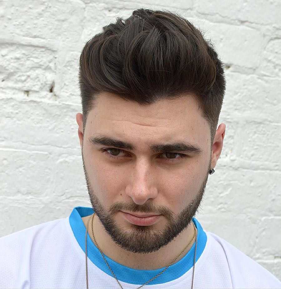 Hipster men haircut  cool haircuts for men   pompadour haircuts and hipster