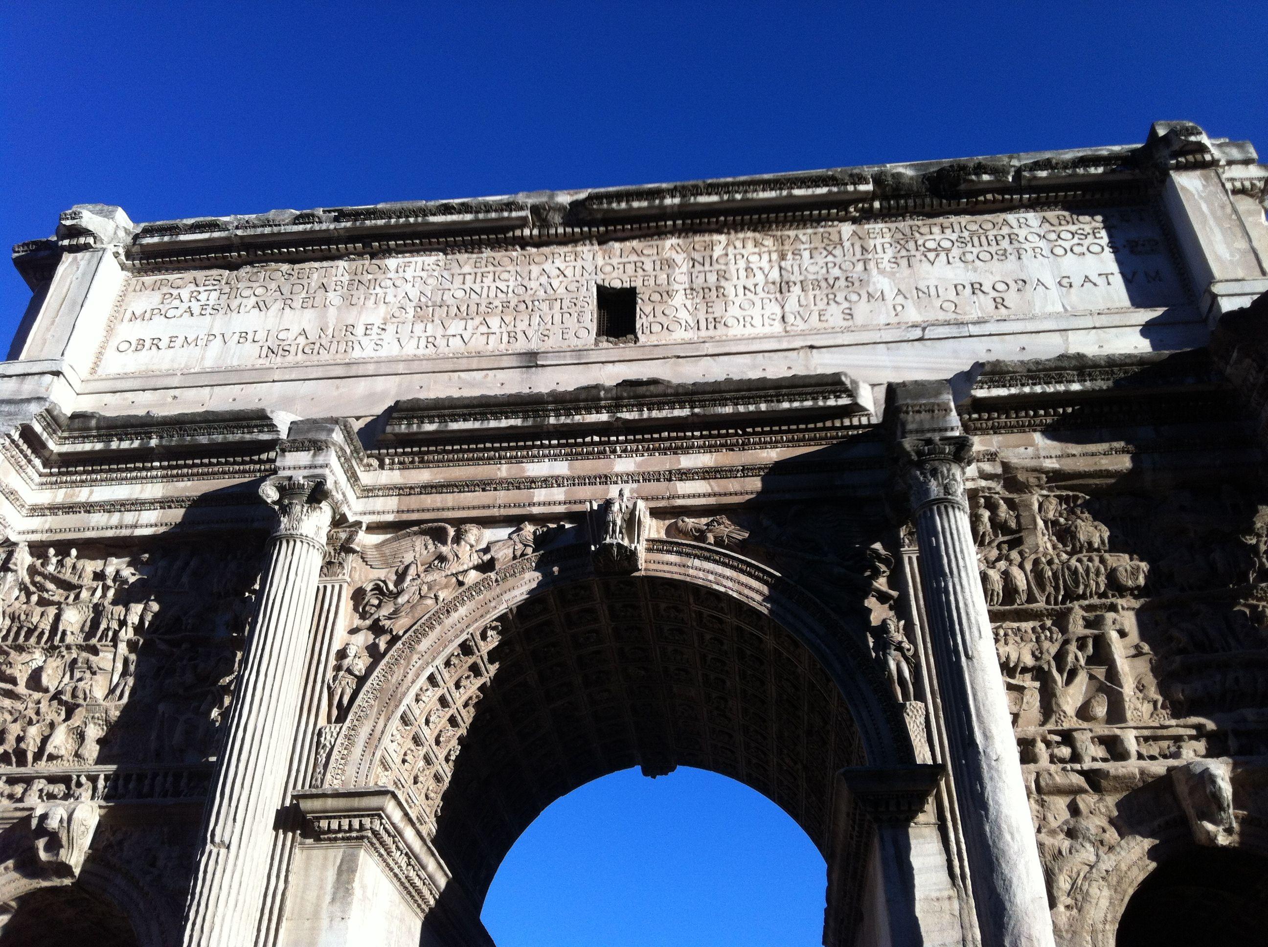 Arco de Sétimo Severo.