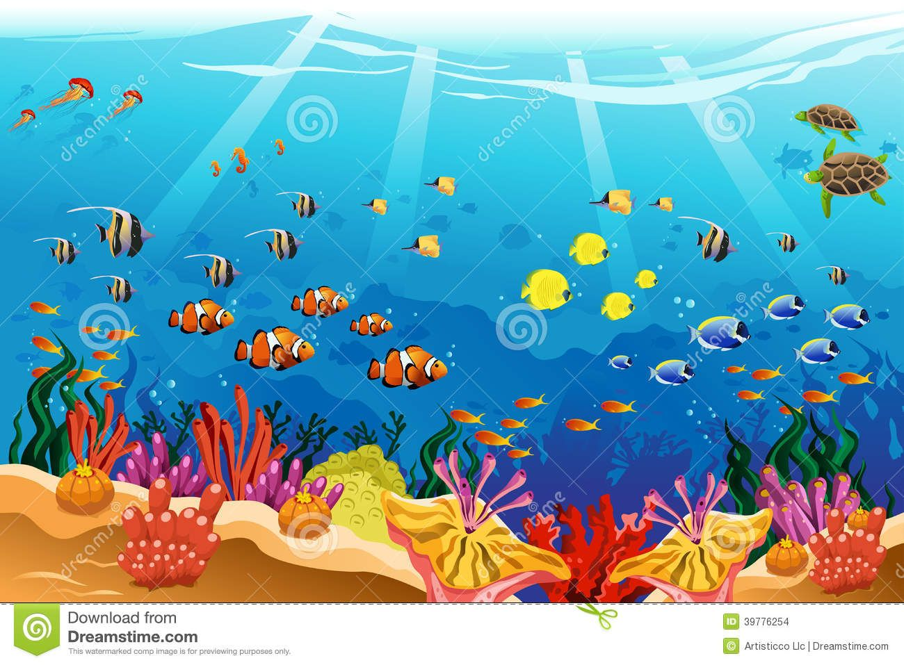 Underwater scenes to draw google search glass ideas for Fish scenery drawing