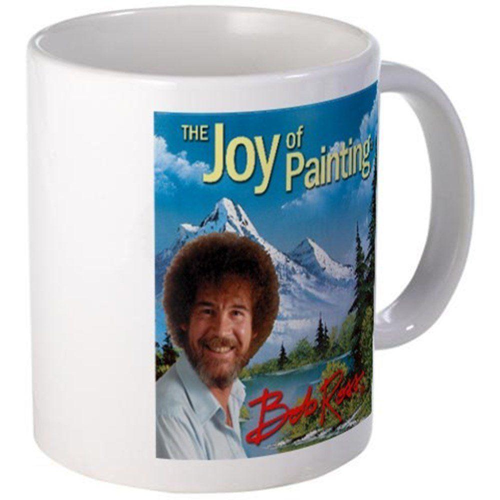 "11 ounce Mug - Bob Ross Mug - S White "" available at https ..."