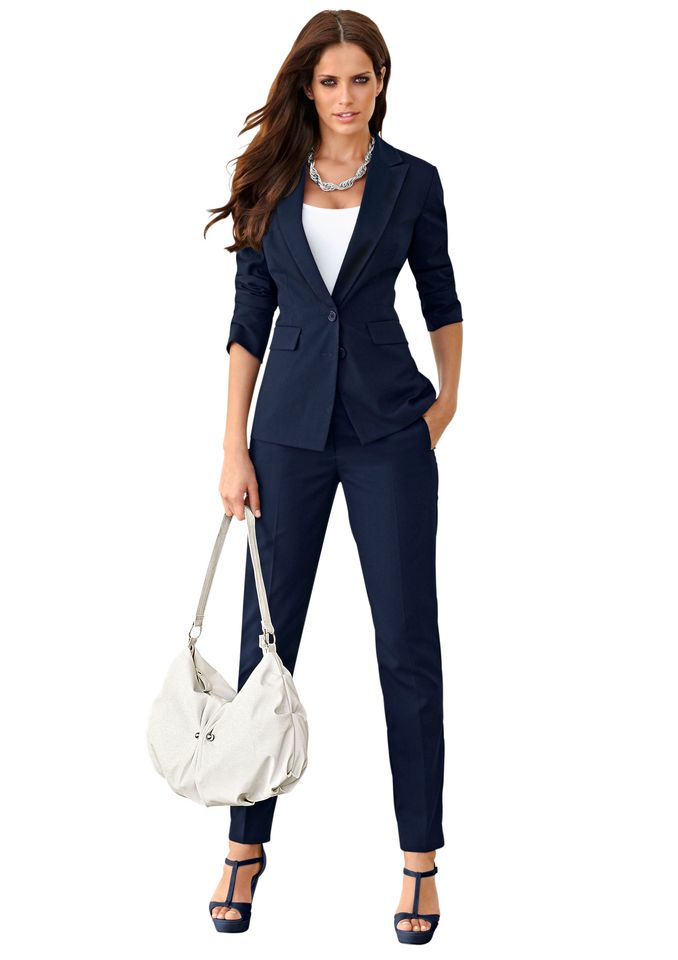 Corioles Damen Hosenanzug Als Moderne Business Uniform Fashion
