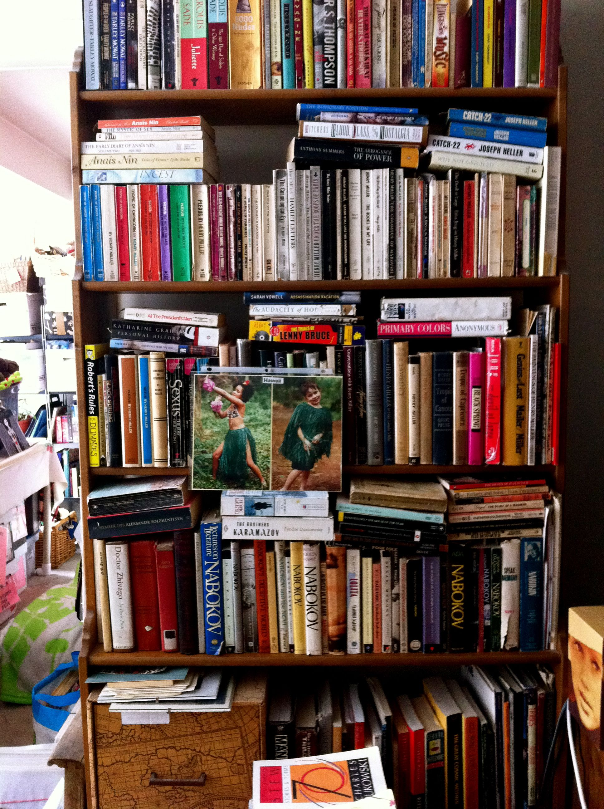 Cottage Home Library: Part Of My Personal Library.