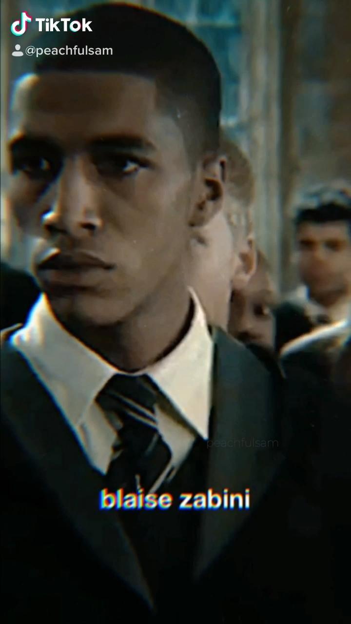 Blaise Zabini Video Draco Malfoy Harry Potter Aesthetic Draco Harry Potter