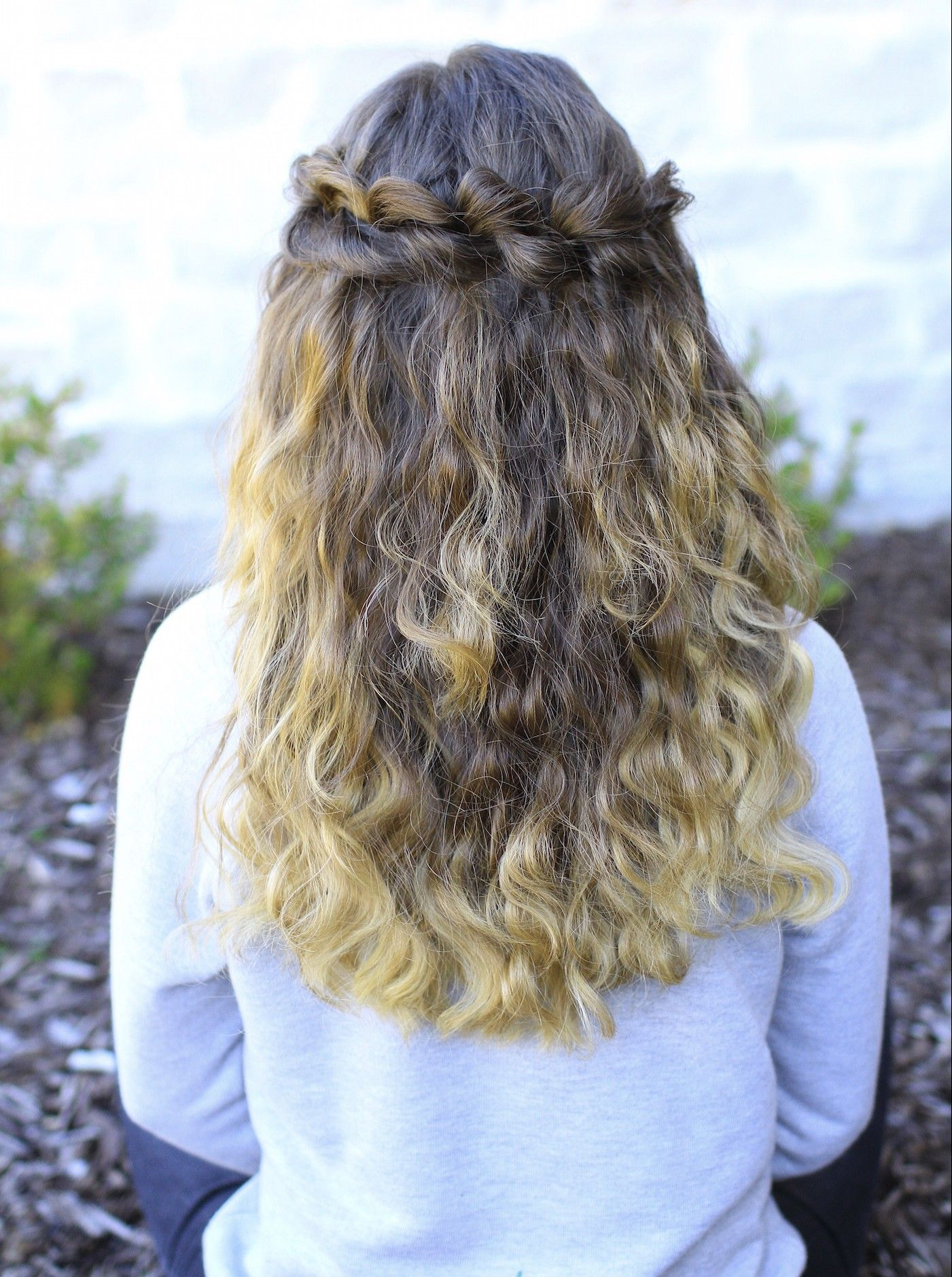 Puffed Loop Braid  Boho Hairstyles  cute girls hair style