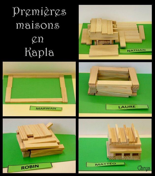 Maison De Kapla le journal de chrys: la maison en kapla | jeux de construction